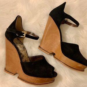 Black San Edelman Heels